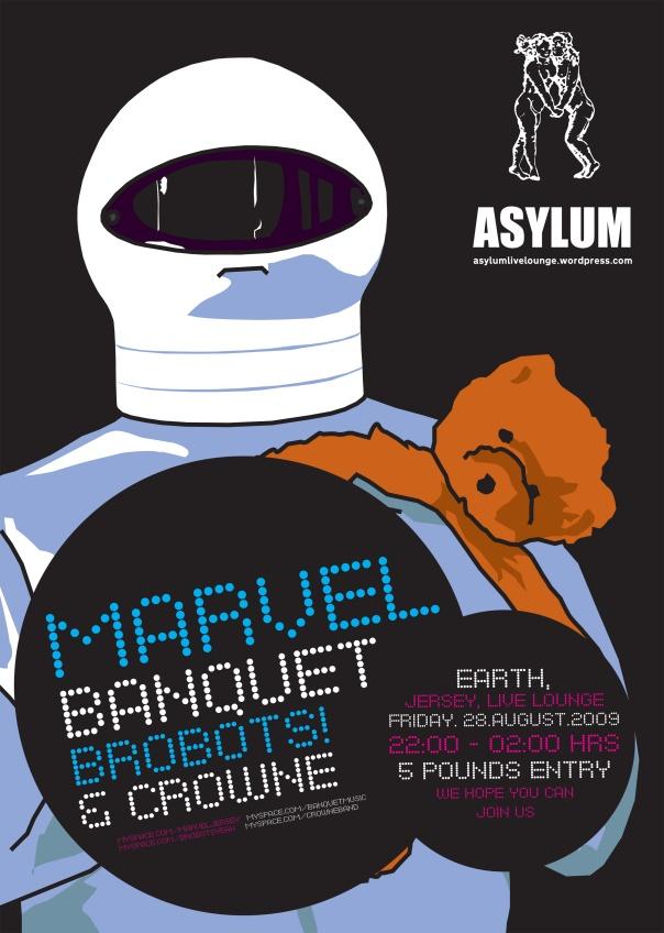 Brobots poster version 1 designed by Brobot 2